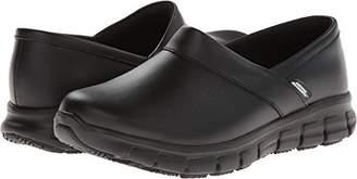 Skechers for Work Women's Relaxed Fit Slip Resistant Work Shoe