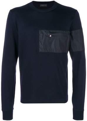 Prada chest pocket jumper