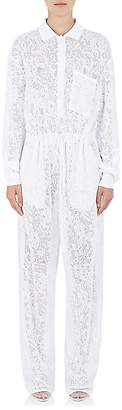 Givenchy Women's Lace-Knit Drawstring Jumpsuit