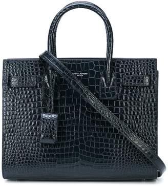 Saint Laurent leather mini tote bag