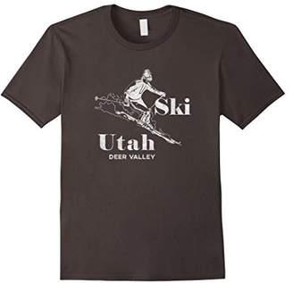 Vintage Utah T-Shirt Deer Valley Skiing Tee
