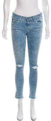 Adriano Goldschmied Mid-Rise Skinny Jeans