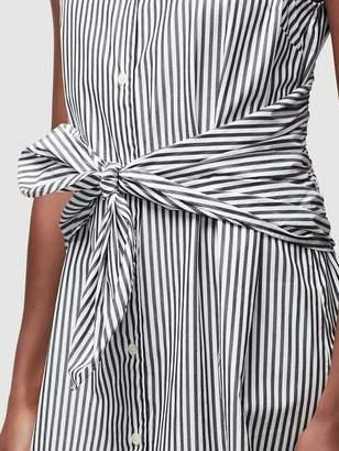 Frame Knot Stripe Dress