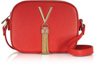 Mario Valentino Valentino By Lizard Embossed Eco Leather Divina Mini Crossbody Bag