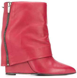 The Seller foldover flap boots