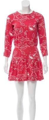 Current/Elliott Floral Mini Dress