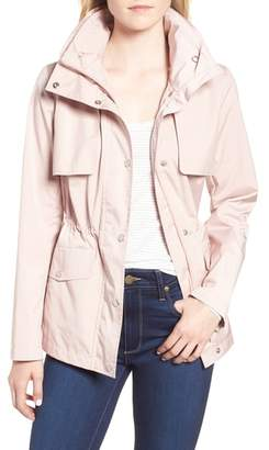 Cole Haan Gunflap Packable Rain Jacket