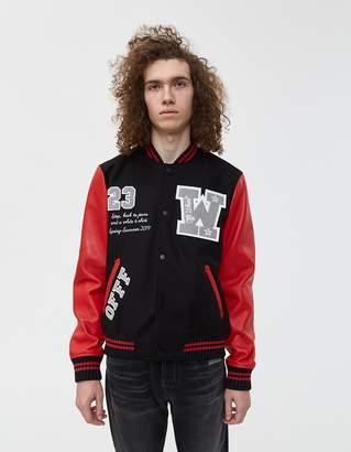 Off-White Off White Wool Varsity Jacket