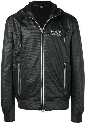 Emporio Armani Ea7 hooded logo jacket