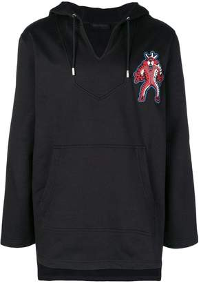Diesel Black Gold logo patch hoodie
