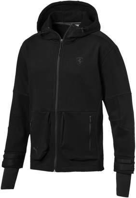 Scuderia Ferrari Life Men's Midlayer Full Zip Hooded Jacket