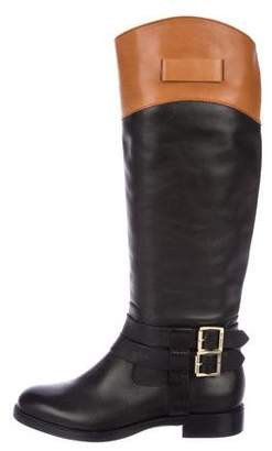 Rachel Zoe Leather Knee-High Boots