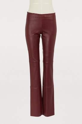 Stouls Jack plunged leather leggings