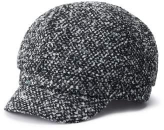Apt. 9 Women's Boucle Cabbie Hat