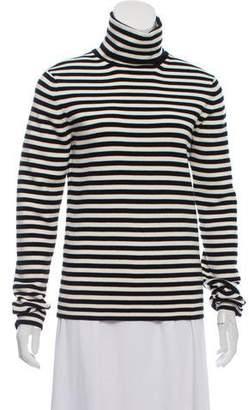 Moncler Striped Turtleneck Sweater