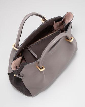 Nina Ricci Marche Small Tote Bag, Gray