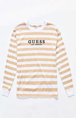 Guess St. James Stripes Long Sleeve T-Shirt