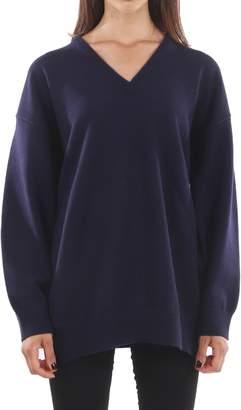 Balenciaga Navy Cashmere Sweater