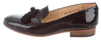 Dieppa Restrepo Patent Leather Tassel Loafers
