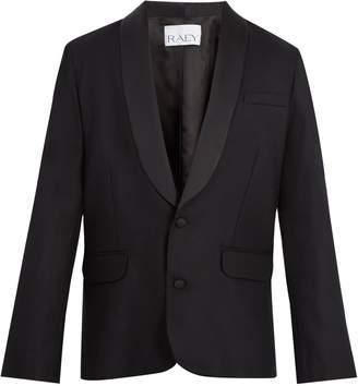 Raey Satin-lapel wool tuxedo jacket