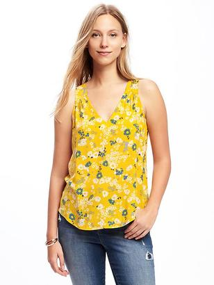 Relaxed Cutout-Back Blouse for Women $24.94 thestylecure.com