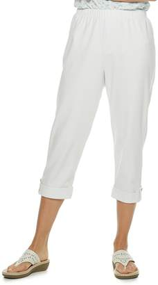 Women's Cathy Daniels Napa Valley Nautical Pull-On Capris