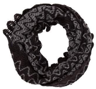 Missoni Knit Pattern Infinity Scarf