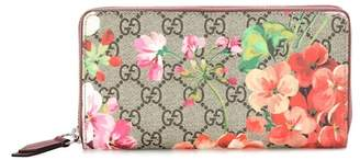 Gucci Blooms GG Supreme coated-canvas wallet