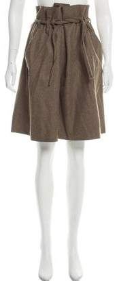 Collection Privée? Knee-Length Wool Skirt w/ Tags