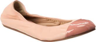 Lanvin Cap Toe Leather Ballet Flat