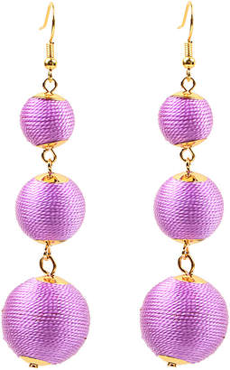Eye Candy Los Angeles 24K Plated Statement Earrings