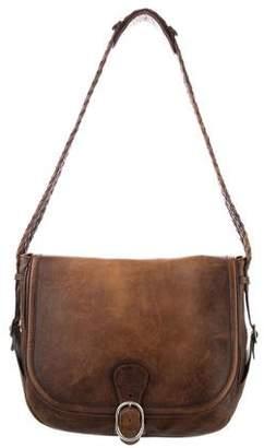Gucci Braided Messenger Bag