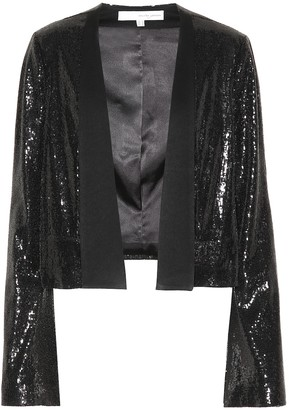 Galvan Galaxy sequinned jacket