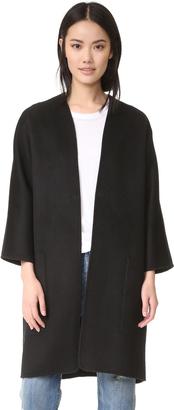 Vince Reversible Felt Cardigan Coat $695 thestylecure.com
