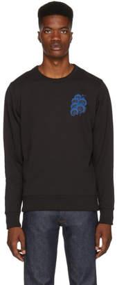 Saturdays NYC Black Bowery Orchid Sweatshirt