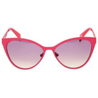 Italia Independent Pink Metal Sunglasses