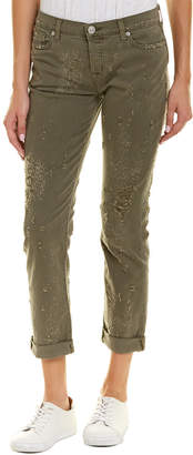 Hudson Jeans Jeans Riley Loden Green Relaxed Straight Leg