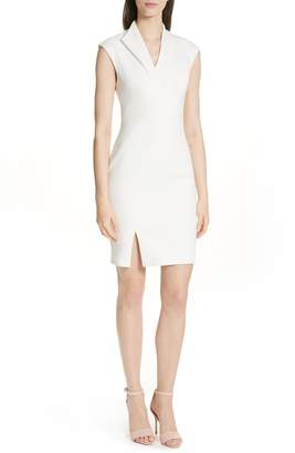 Ted Baker Geodese Faux Wrap Pencil Dress