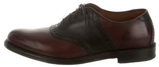 Allen EdmondsAllen Edmonds Leather Round-Toe Brogues
