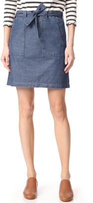 A.P.C. Nairobi Skirt $220 thestylecure.com