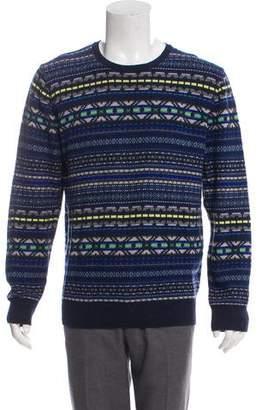 Paul Smith Printed Crew Neck Sweater