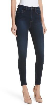 L'Agence Katrina Ultra High Waist Crop Skinny Jeans