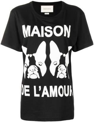 Gucci Maison de L'amour printed T-shirt