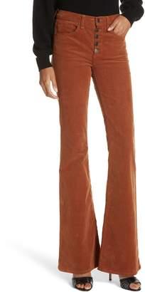 Veronica Beard Beverly Corduroy Flare Pants