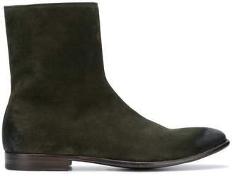 Alexander McQueen suede zipped boots