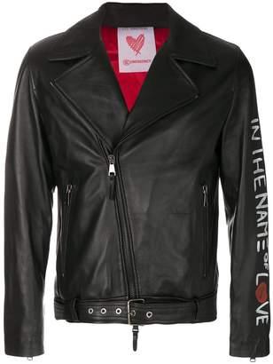 Les Bohemiens sleeve motif jacket