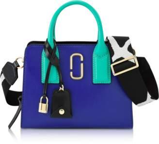Marc Jacobs Blue Strap Little Big Shot Tote Bag