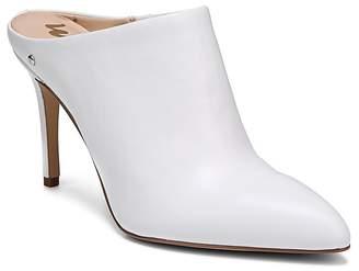Sam Edelman Women's Oran Leather High-Heel Mules