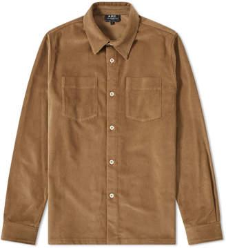 A.P.C. Joe Corduroy Overshirt