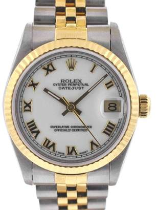 Rolex Midsize Datejust 68273 Two Tone Watch